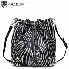 Jules baodan leather bucket shoulder bag fashion handbags Crossbody 2015 in Europe and America the new ladies trend bags