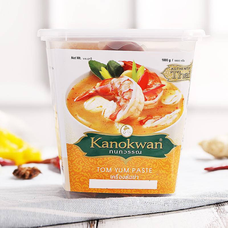 泰国原装 咖喱皇牌冬阴功酱1kg进口调味品料理冬阴功汤多省包邮
