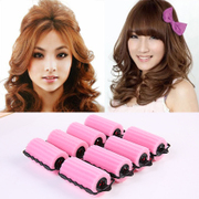 Knowing Minnie PEAR sponge hair rollers hairdressing hair tool large curlers fringe rolls