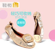 Round head shoe shoebox2016 spring tide new foot shoes low heels flat shoes 1116101060