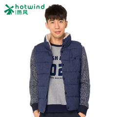 Hot air men's winter on the new trend of the men stand and velvet vest and padded vest men 10W5903
