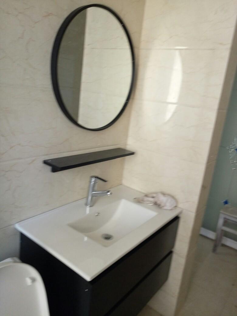 大家使用感受奥谛利808-1黑色洗面柜好吗,购买后评测点评分享!