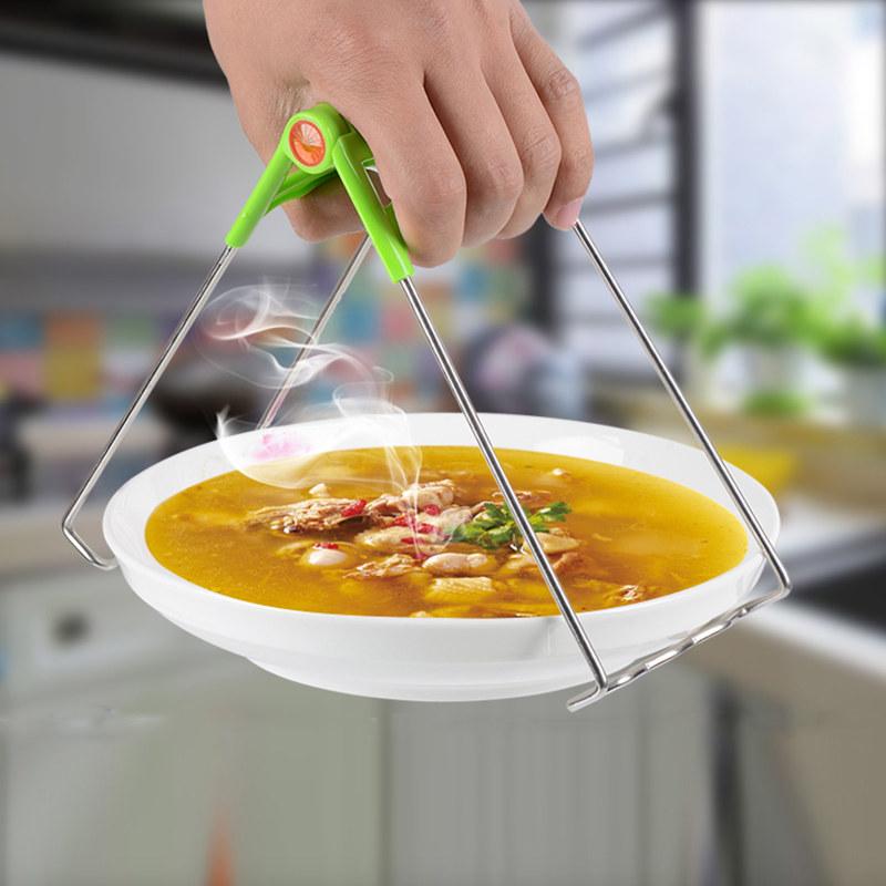 【天天特价】不锈钢防烫夹取碗夹抓盘器夹碗器提盘子夹子
