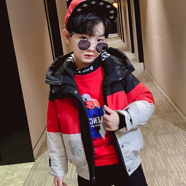 男童棉衣2019新款童装儿童冬装羽绒棉服短款棉袄外套男孩洋气潮衣