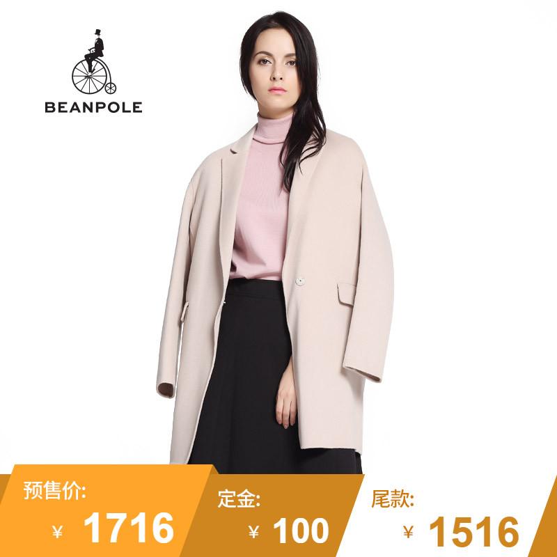 【预售】BEANPOLE滨波 秋冬新品 女士羊毛Handmade大衣 BF6830Z01