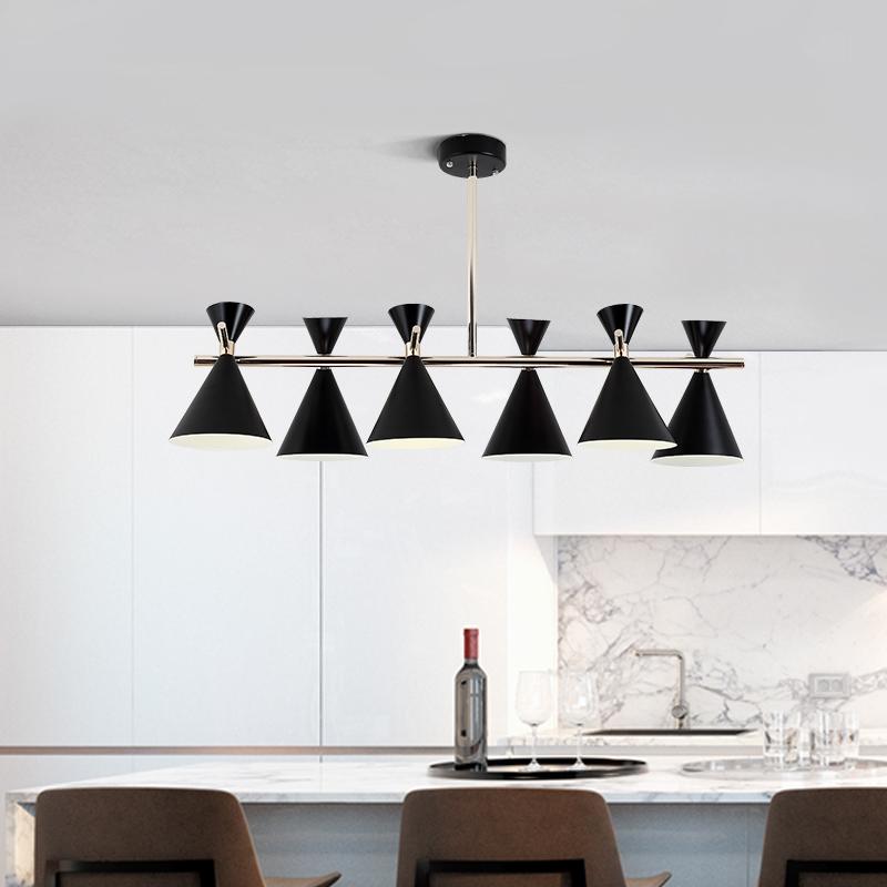 北欧吊灯实木餐厅灯