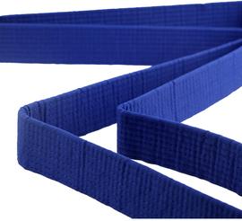 跆拳道腰带绣字色带黑带定制儿童道带刺绣棉芯跆拳道用品带子