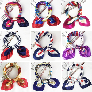Collar flower scarf mobile scarf lady woman bow tie kerchief professional wear telecommunications woman female collar accessories