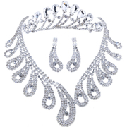 Good unique tail shape rhinestone beauty queen plug comb Crown bridal wedding jewelry wedding accessories
