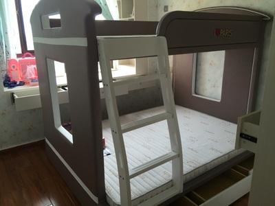 评价:慕思儿童床上下床子母床实木双层床高低床单人床EBT-601