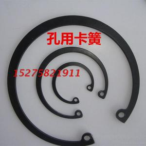 Retaining ring with inner spring for fastener holes 195 200 210 215 220 230 240 250 260