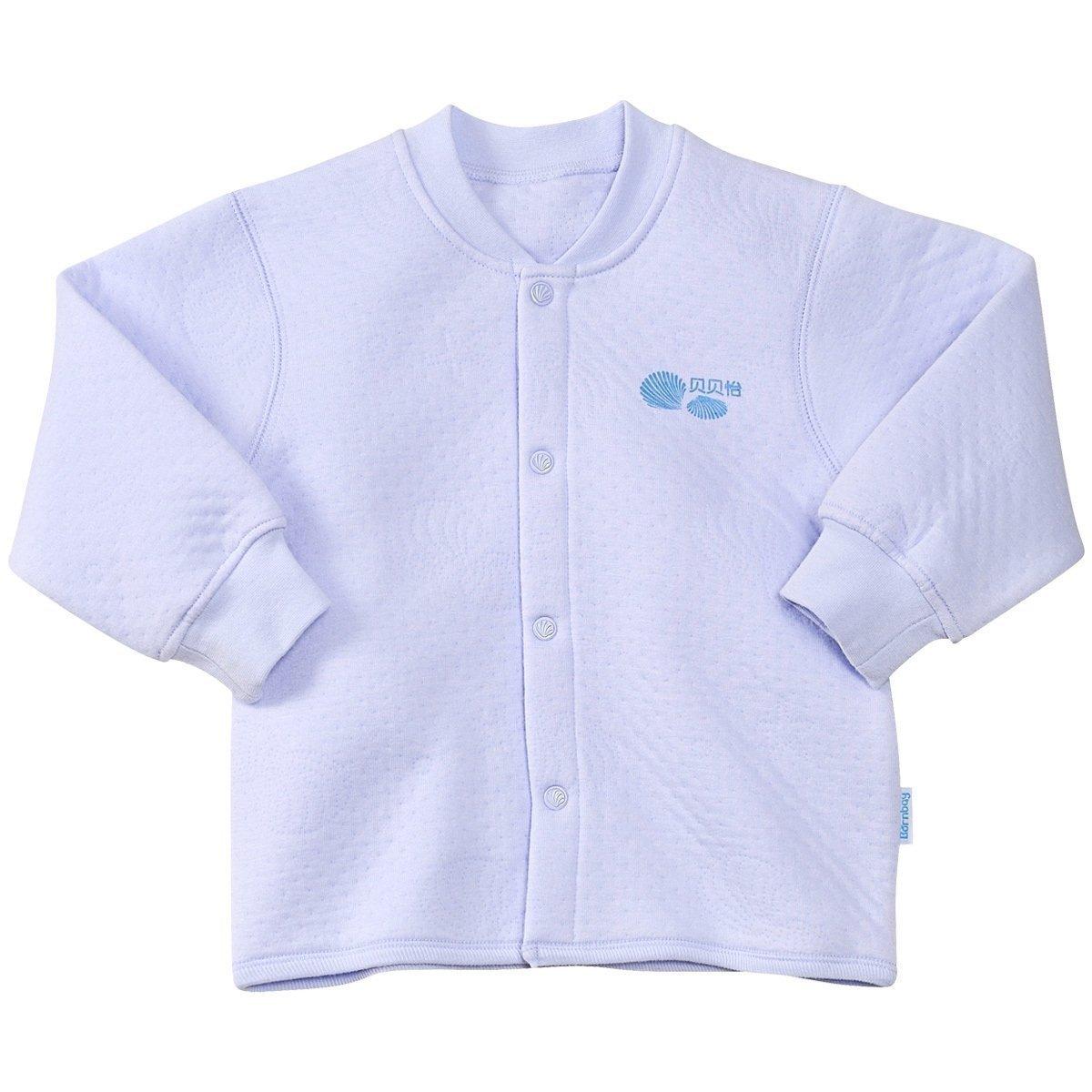 贝贝怡婴幼儿童婴儿保暖内衣加厚秋冬装纯棉衣服宝宝单件上衣夹棉