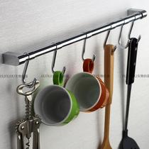 免打孔廚房掛桿壁掛不鏽鋼掛架多功能活動掛鉤式排鉤廚房掛鉤宜家