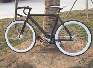Special Jingwei dead fly bike vehicle Fixed gear aluminum alloy frame muscle frame can be reversed