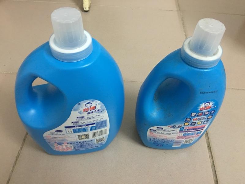 白猫洗洁精高效洁净 清新花香洗衣液 整装销售(4瓶箱)(苏