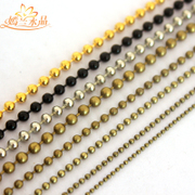 Yan LAN accessories DIY jewelry materials accessories beads beads chain chain bronze, black
