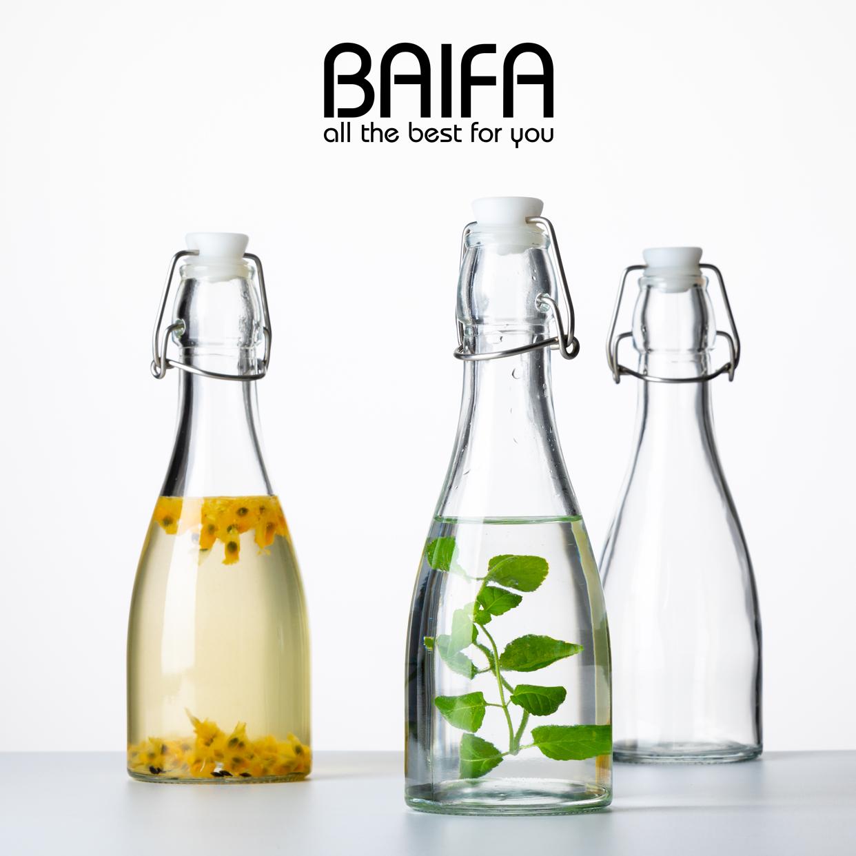 喜碧泡酒玻璃瓶食品玻璃密封罐储物罐柠檬百香果密封罐酒瓶酵素桶
