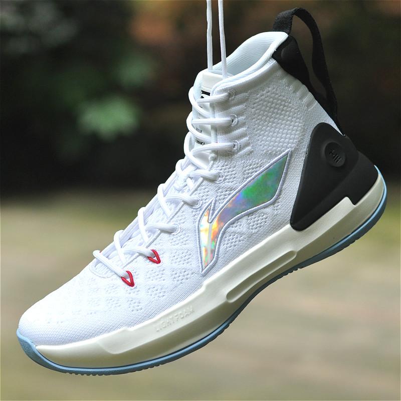 李宁驭帅13代NBA球员CJ麦科勒姆专业比赛高帮减震篮球鞋ABAP075-1