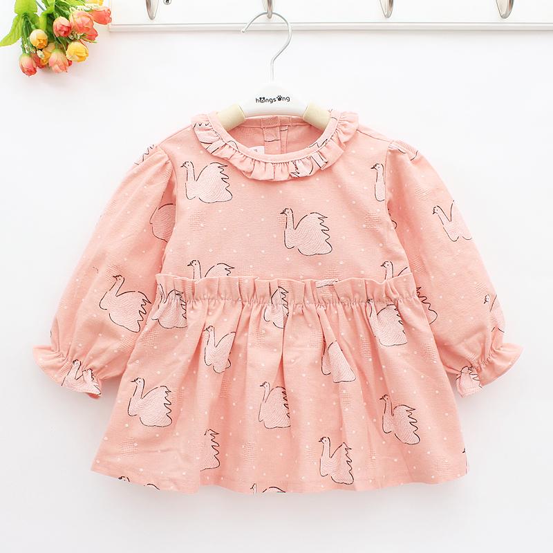 婴儿罩衣纯棉防水秋冬长袖护衣婴幼儿童吃饭衣围兜反穿衣宝宝围裙