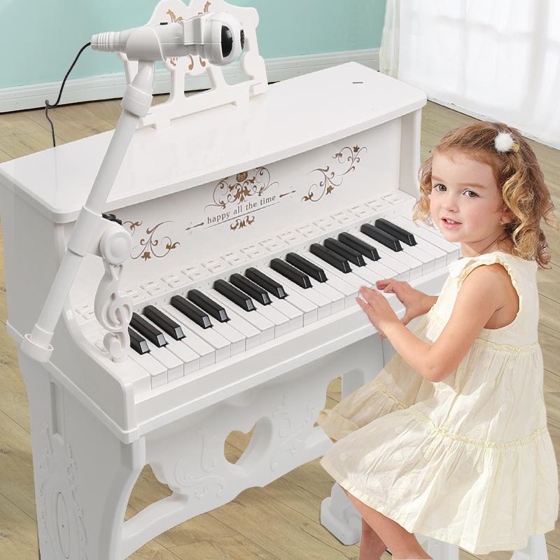 贝芬乐儿童电子琴钢琴初学者3-6-12周岁玩具多功能男女孩礼物入门