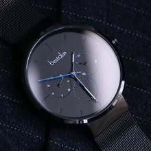 Bunton men's watch waterproof fashion 2018 new wormhole concept quartz watch student Korean version of the simple trend
