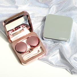 隐形眼镜盒ins少女心可爱包邮便携简约伴侣收纳网红同款美瞳盒子