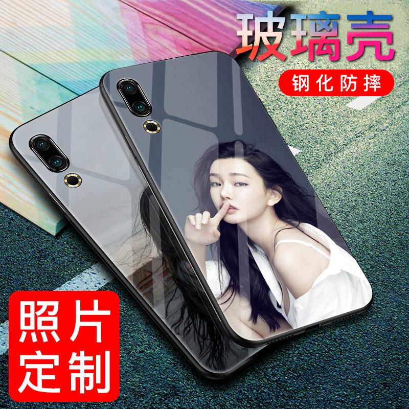 魅族16s手机壳定制来图创意男女款自定义玻璃私人订制照片diy定做魅族16xs个性照片定做防摔硅胶制作16xs