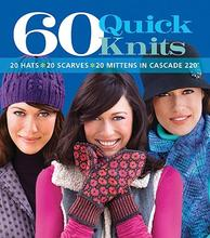 Pre-sale 60 Quick Knits: 20 Hats*20 Scarves*20 Mittens in