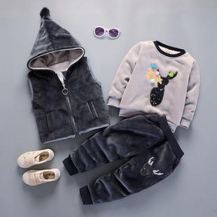 22 2018 儿童套装加绒冬