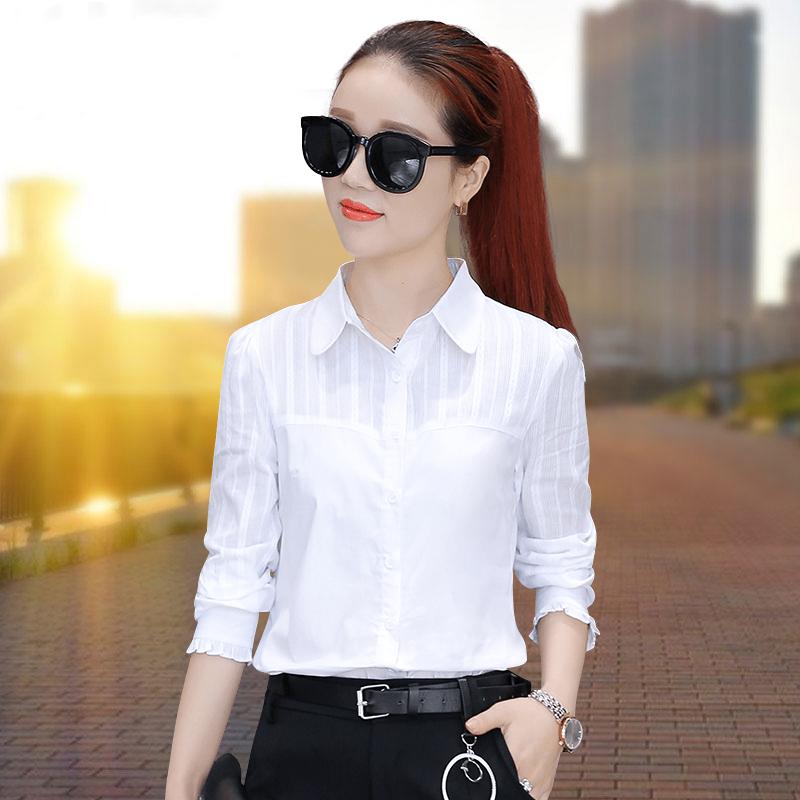 Модные белые рубашки 2017 женские