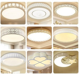 Dormitory romantic sleeping safety dome chandeliers home improvement light-sensory study simple home ceiling led light