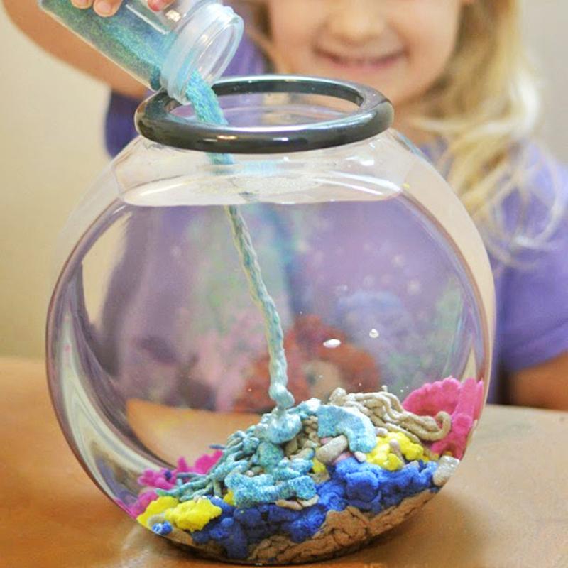 魔力沙水中取出干沙 新奇创意整蛊科学玩具送孩子同学圣诞节礼物