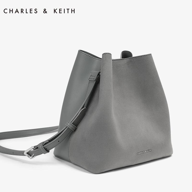CHARLES&KEITH 单肩包 CK2-80780463 欧美纯色子母包斜挎女包