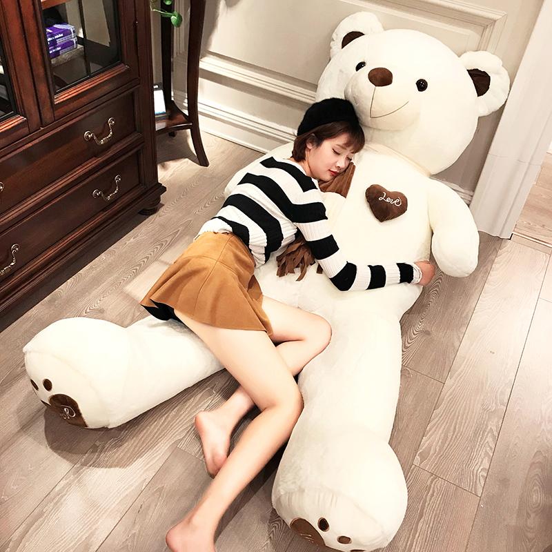 泰迪熊毛绒玩具送女友布娃娃抱抱熊抱枕熊猫公仔大熊女生生日礼物