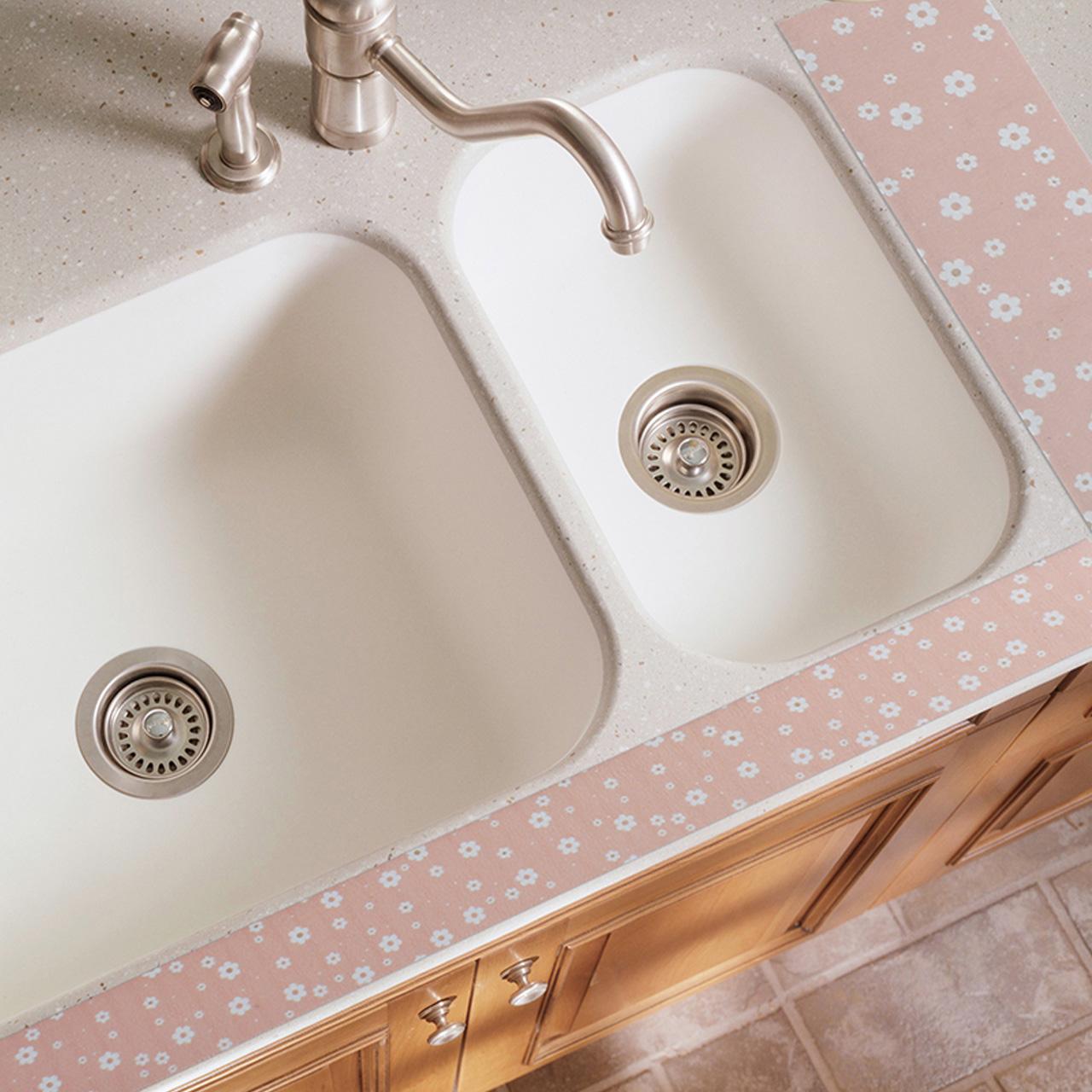 厨房水槽防水贴自粘洗菜盆吸水贴卫生间台面马桶吸湿浴室玻璃贴纸