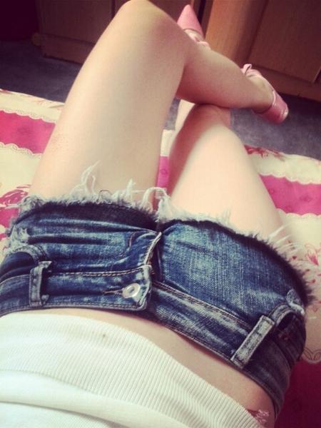 超级诱惑性感低腰ds超短牛仔裤 干爹最爱三角齐b齐比小短裤夏季女
