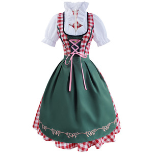 Maid Maid Dress German Beer Festival Bavarian Traditional Beer Clothing Bar Waiter Overalls