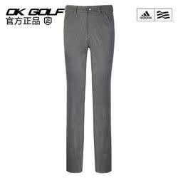 高尔夫服装Adidas阿迪达斯男士运动长裤golf暗条纹裤子秋冬厚款