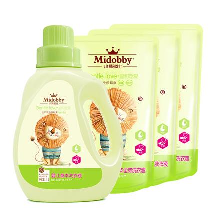 婴儿洗衣液 新生儿 宝宝专用 儿童洗衣液无荧光剂包邮家庭装正品