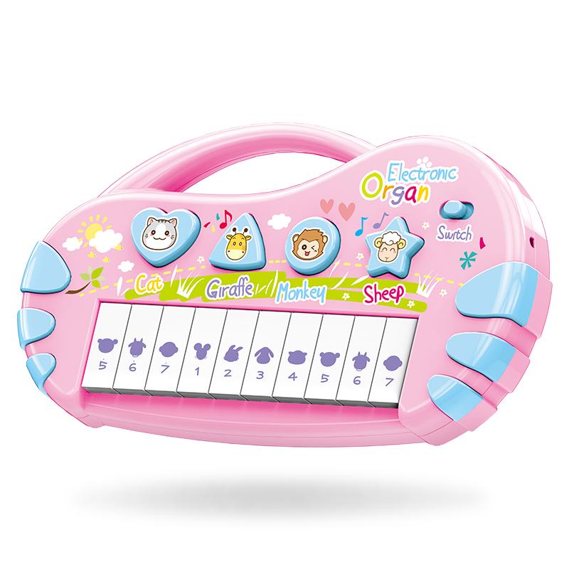 儿童电子琴启蒙玩具宝宝早教益智音乐小钢琴小男孩玩具琴1-3-6岁