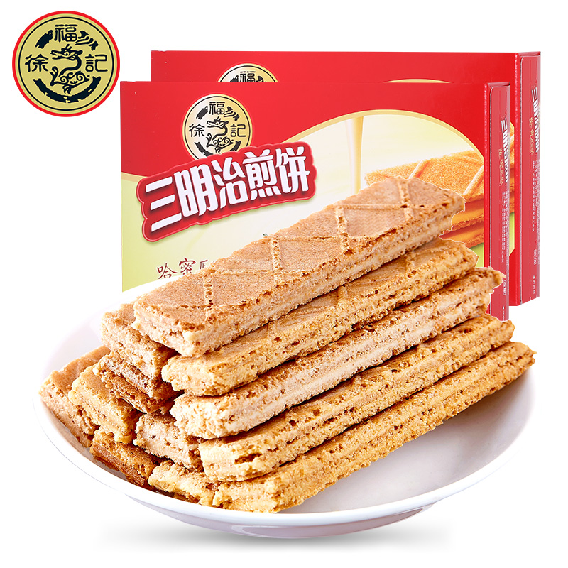 徐福记-三明治煎饼90g夹心饼干零
