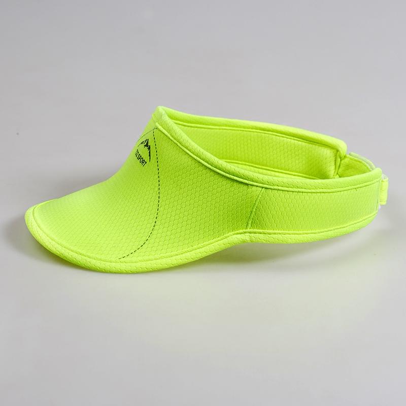 空顶帽女户外防晒夏季马拉松速干超轻跑步遮阳男士