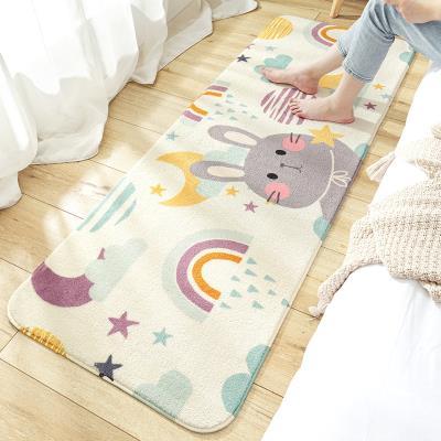 地欧式毯一客厅地机泡沫泽地脚垫垫垫防滑张整毛毯信地毯床边垫垫