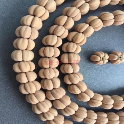长串连体山楂核手串五福籽文玩手串沉香男士手持108颗佛珠手链图片
