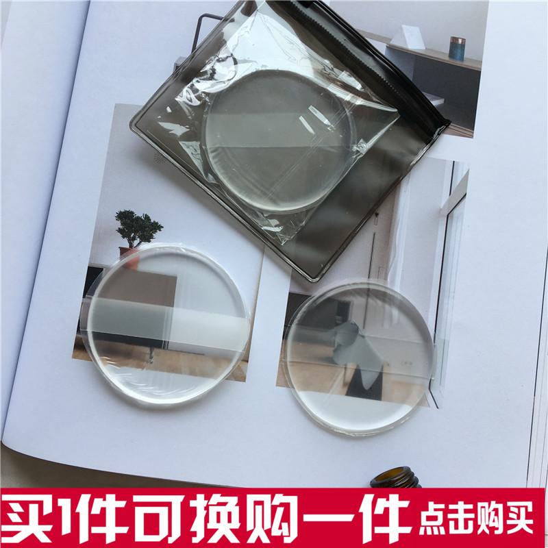 硅胶粉扑气垫水晶果冻韩国圆形透明bb霜玻璃化妆面扑