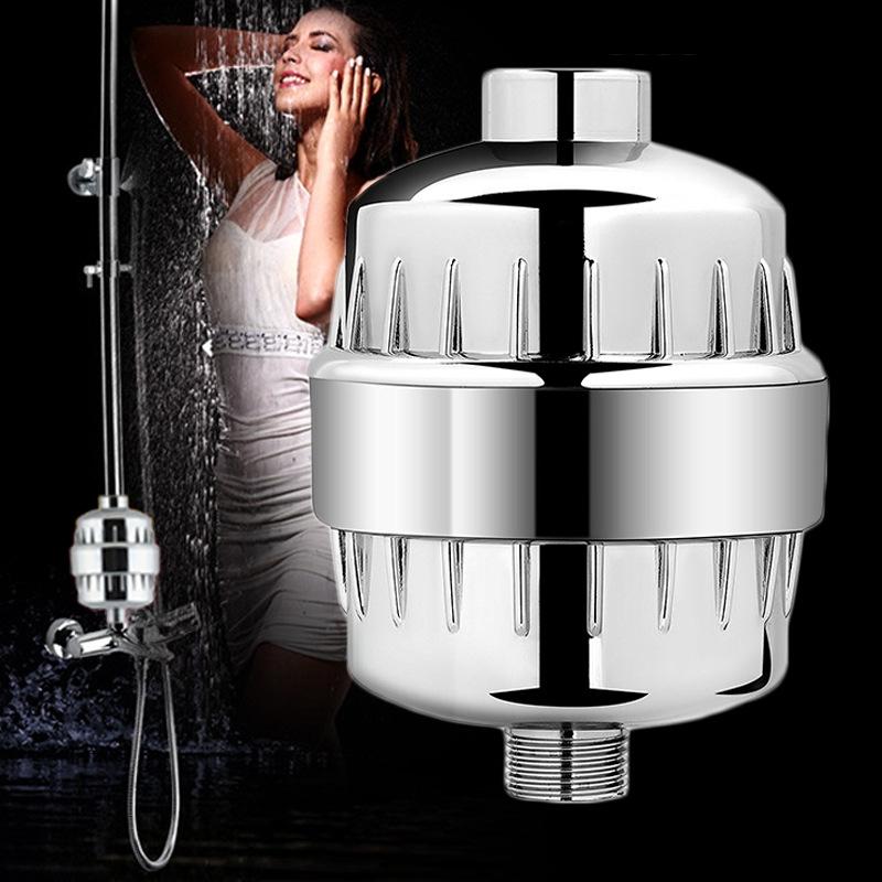 德国家用沐浴宝花洒净水器淋浴水管去水锈净化器。小型洗澡过滤器