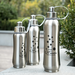 304 stainless steel student outdoor sports space pot large capacity 1L men and women tea drinking cup 1000ml