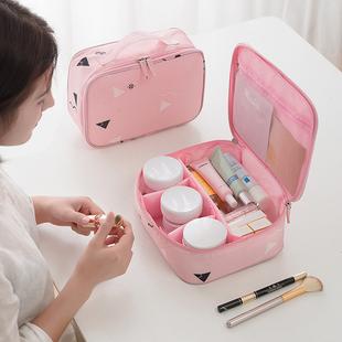 便携化妆包女大容量手拿 袋韩国