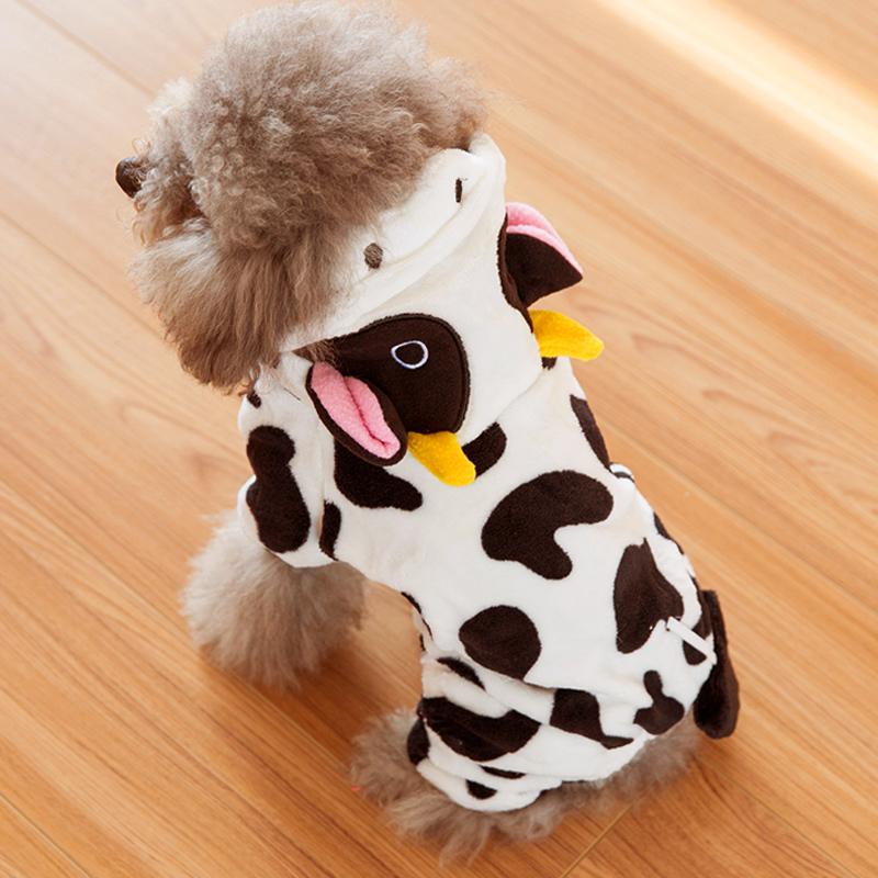 狗狗衣服秋冬装泰迪四脚衣冬装比熊小型犬幼犬宠物变身装小狗秋装
