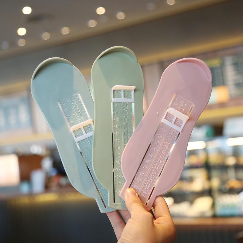 婴儿宝宝量脚器新生幼儿童买鞋脚长测量器量脚内长0-8岁尺码包邮